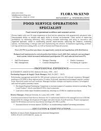 Cover Letter Fast Food Resume Manager Fast Food Resume A Good