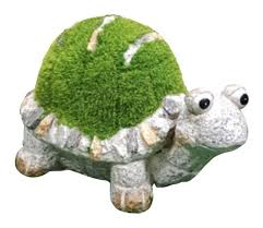 kent collection flocked garden lawn outdoor turtle ornament small 5026390923168 ebay