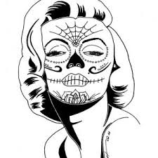 Skull Coloring Pages Free Download Best Skull Coloring Pages On