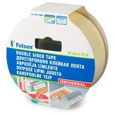 <b>Клейкая лента</b> универсальная <b>Folsen</b> 31115025, 50 мм x 25 м ...