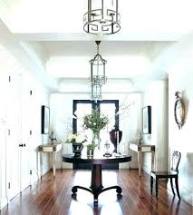 N Round Hall Table Hallway Entrance
