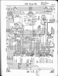wiring diagram for 1955 t bird wiring diagram schematics 1957 1965 thunderbird wiring diagrams