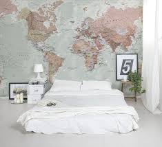 classic world map wallpaper with amazing detail and colour looks great as a fea