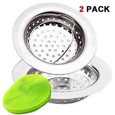 kitchen sink strainer basket. 2 Pieces Kitchen Sink Strainer Baskets By Ezcoloris With Silica Cleaning Pad St | EBay Basket -