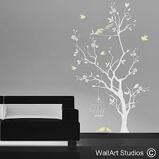 nursery wall decals uk unique tree wall art nature wall art stickers