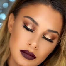 thanksgiving festive glam makeup tutorial