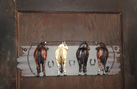 Horse Coat Rack Horse Tail 100 prong coat rack hooks Texas Ranch style coat rack wall 25