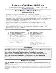 Company Resume Extraordinary Anthony Dalakian Resume