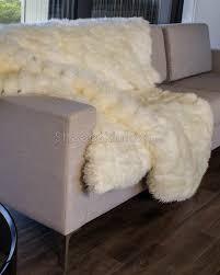 enchanting sheepskin throw rug interesting ideas white ivory sheepskin throw blanket town
