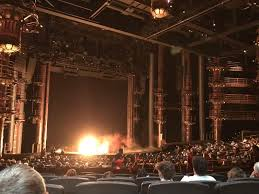 seating view for kÀ theatre mgm grand section 201 row gg seat 17