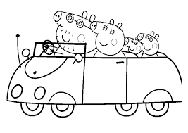 Peppa Pig Coloring Pages For Kids Printable Coloring Pages Pig Pig