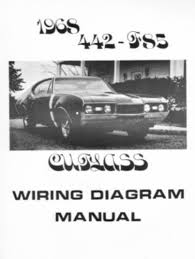 oldsmobile 1968 f85 442 amp cutlass wiring diagram this listing is for one brand new 1968 oldsmobile f85 442 and cutlass wiring diagram booklet measuring 8 ½ x 11 covering the air conditioner heater