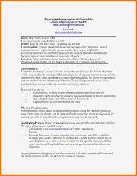 Journalism Internship Cover Letter 12 13 Journalism Cover Letters Samples Mysafetgloves Com
