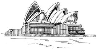architectural drawings of famous buildings. Famous Landmarks Image Gallery Learn How To Draw The Sydney Opera House In A Few Easy Architectural Drawings Of Buildings T