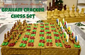 Fun Holiday Baking: Graham Cracker Chess Set and Peanut Butter ...