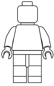 Lego Poppetje Kleurplaat Babytijdcom