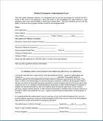 Printable Medical Release Form For Children Amazing Parental Consent Form Template Sample Child Consent Forms Templates