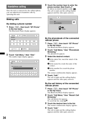 xav bluetooth sony operating instructions