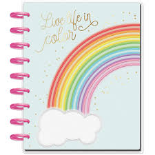 At A Glance Academic Planner 2020 17 The Happy Planner Student Planner Neon Dreams August 2019