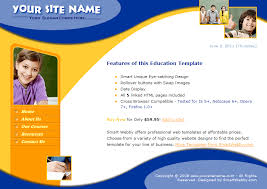 Templates For Education Smart Education Template