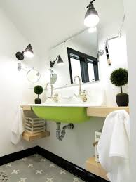 sea themed furniture. eclectic bathroom green sink sea themed furniture