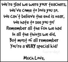 Image result for kindergarten teacher farewell to kindergarten end of the year