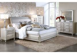 Catchy Silver Bedroom Furniture Sets With Hefner Platinum 5 Pc Queen Bedroom  Badcock Home Furniture More
