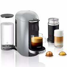 Nespresso Frother Nespresso Vertuoplus Deluxe And Aeroccino Bundle In Silver Whole
