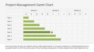 Milestone Chart Project Management Project Management Gantt Chart Powerpoint Template Slidemodel