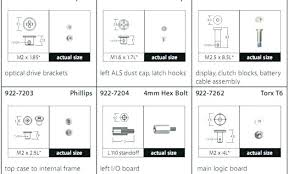Metal Screw Sizes Northernlightsdigital Co