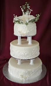 Simple 3 Tier Wedding Cake Designs Pin By Bob Brougham On Cakes Cool Wedding Cakes