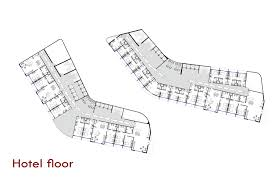 hotel floor plans. Father And Son Skyscraper / IAMZ Studio,hotel Floor Plan Hotel Plans