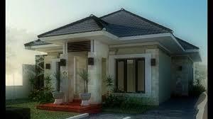 desain rumah minimalis desain rumah modern tropis 1 lantai youtube