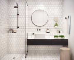 Fall s Bathroom Trend Round Mirrors 24 East