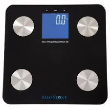 Black Bathroom Scales Taylor Lcd Display Bath Scale In Stainless Steel 7407 4102 The