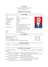 Best Contoh Resume Doc Photos - Simple resume Office Templates .