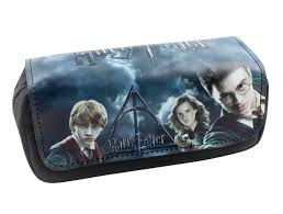 harry potter makeup bag. 2017 new harry potter cute pencil case stationery bags yuri on ice undertale one piece rwby makeup bag