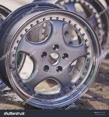 Rims Design Studio Close Rims Car Alloy Wheel Old Stock Photo Edit Now 546512764