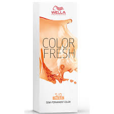 Wella Eos Color Chart Wella Color Fresh Light Natural Brunette Brown 5 07 75ml