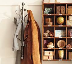 Coat Rack On Wall Classy WallMount Coat Rack Pottery Barn