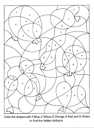 Small Picture adult color by number coloring pages for kindergarten color by
