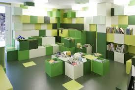 contemporary library furniture. Cute Lego Library Chair Design Blue White Green Contemporary Furniture U