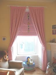 Pink Curtains For Girls Bedroom Pink Nursery Curtains Roman Blind Rustic Home Ideas