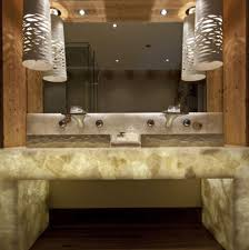 gorgeous bathroom pendant lighting ideas come with tube shape bathroom pendant lighting and recessed ceiling lights plus large wall mirror bathroom pendant lighting ideas