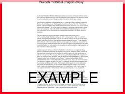 walden rhetorical analysis essay college paper help walden rhetorical analysis essay kittredge s english classes search this site home thoreau rhetorical analysis essay