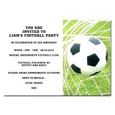 Soccer Party Invite Soccer Birthday Party Invitations Free Salabs Pro