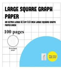 Large Square Graph Paper James Manning Book In Stock