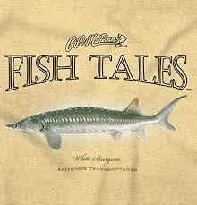 Amazon Com Brisco Brands White Sturgeon Fish Graphic Sea