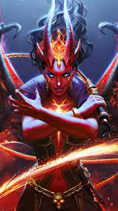 Queen of Pain Arcana Dota 2 Eminence of ...