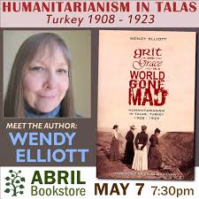 Abril Bookstore Presents Wendy Elliott GRIT AND GRACE IN A WORLD GONE MAD –  Glendale Arts